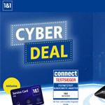 1&1 Cyber Deals mit starken Angeboten aus DSL und Mobilfunk