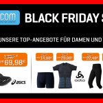 Black Friday bei 21run.com: Top-Marken wie Asics, Nike, Brooks, Saucony & Adidas knallhart reduziert