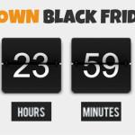 Nur noch 24 Stunden bis zum Black Friday 2013