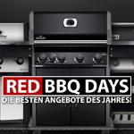 Sichere dir jetzt unglaubliche 16% Preisnachlass mit den 360°BBQ Red BBQ Days