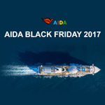 Countdown zum AIDA Black Friday 2017