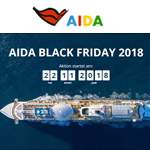 Countdown zum AIDA Black Friday 2018