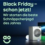 Black Friday – schon jetzt! AO.de startet die beste Schnäppchenjagd des Jahres