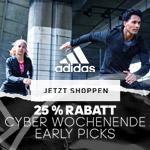 adidas Early Picks: 25% Rabatt auf 400 ausgesuchte Produkte
