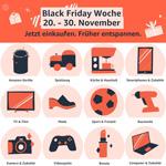 Amazon Black Friday Woche 2020: Tausende Blitzangebote und Amazon Geräte zum Schnäppchenpreis