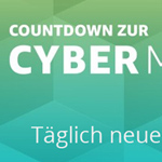 Countdown zur Amazon Cyber Monday Woche 2016 (20.11.2016)