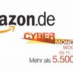 Amazon Cyber Monday Woche 2014: Das sind die Highlights von HEUTE