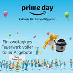 Heute ist Amazon Prime Day 2019: Ein zweitägiges Feuerwerk voller toller Angebote für Amazon Prime Mitglieder!
