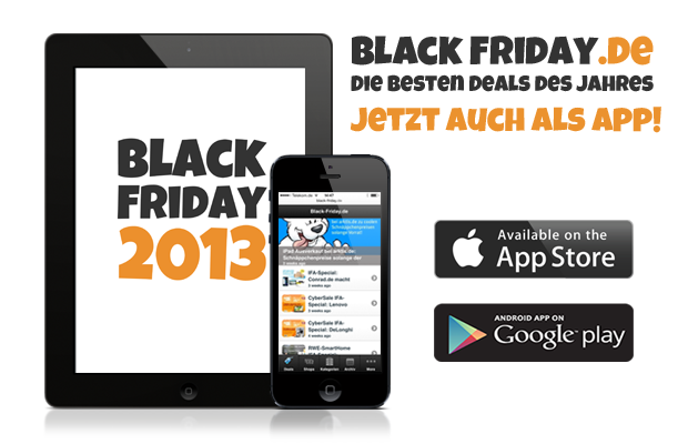 Black Friday 2013 Apps