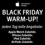 Black Friday Warm-Up: Jeden Tag neue Angebote auf ausgewähltes Apple Zubehör