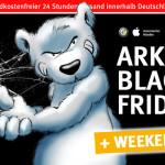 arktis.de verlängert den Black Friday bis zum Cyber Monday