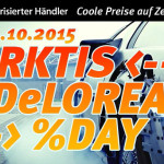 Arktis DeLorean Day: Nur HEUTE coole Rabatte auf iPads, Macs, Beats und Zubehör