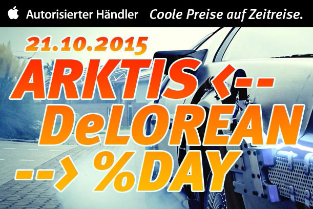 Arktis-DeLorean-Day