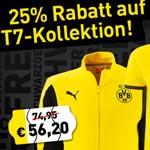 Schwarzgelber Freitag bei Borussia Dortmund: 25% Rabatt auf die T7-Kollektion!