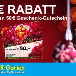 50 Euro Geschenkkarte für 40 Euro bei BALDUR-Garten.de