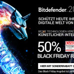 Bitdefender 2016 mit 50% Black Friday Rabatt