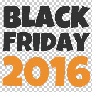 Black Friday 2016 Logo PNG