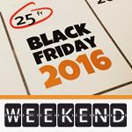 Black Weekend Deals 2016: Viele Deals sind immer noch aktiv!