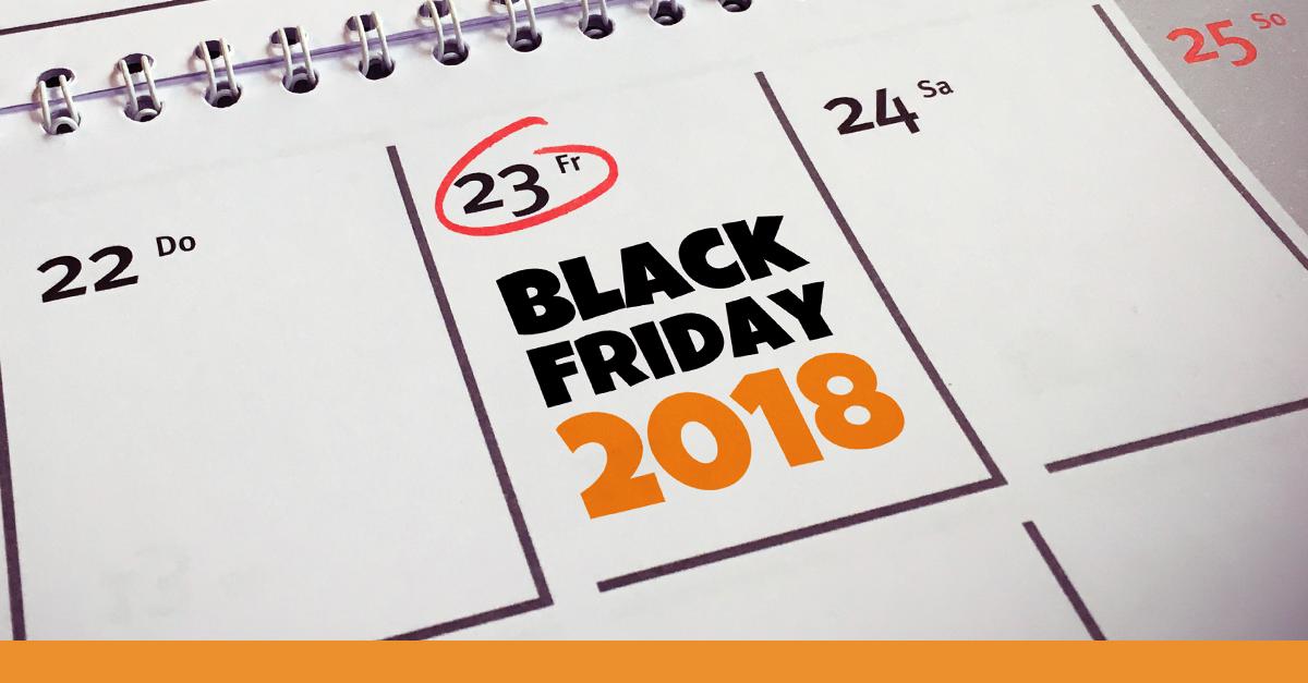 Black Friday 2018 Kalender Visual