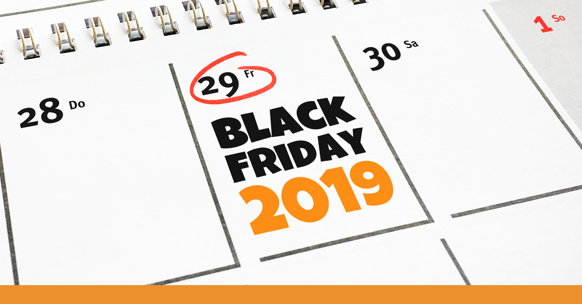 Black Friday 2019 Kalender Visual