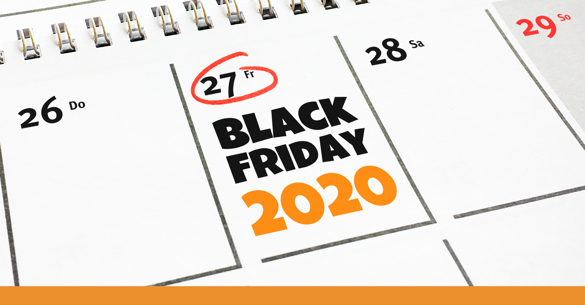 Black Friday 2020 Kalender Visual