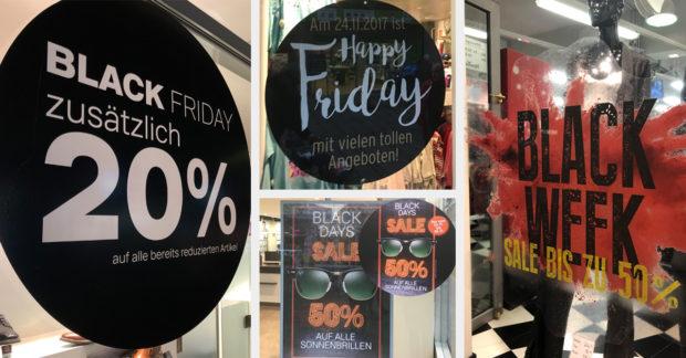 Black Friday im stationären Handel