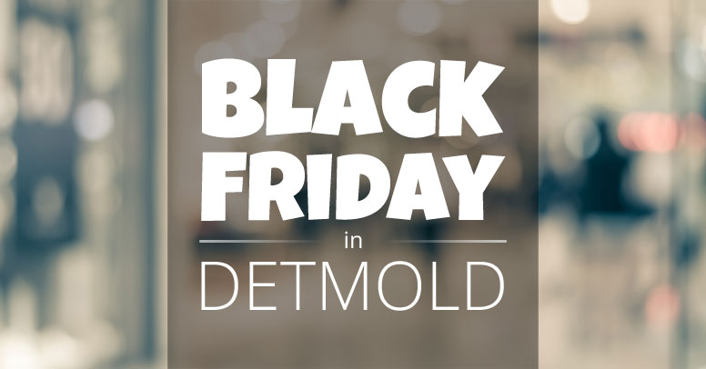 Black Friday Detmold