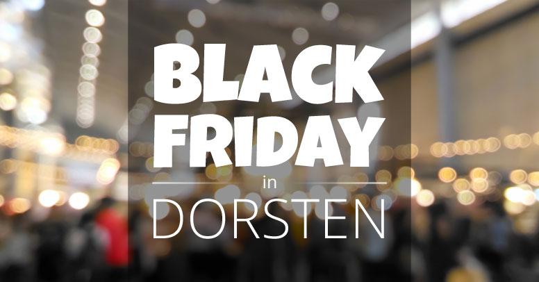 Black Friday Dorsten