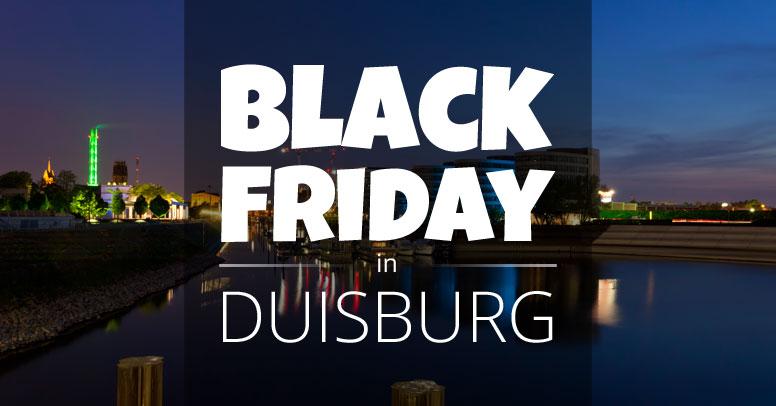 Black Friday in Duisburg |