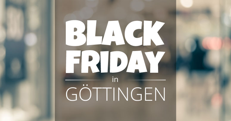 Black Friday Göttingen