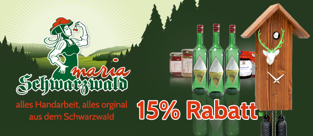 Black Friday Schwarzwald Maria