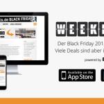 Black Weekend Deals 2015: Viele Deals sind immer noch aktiv!