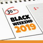Black Weekend 2019: Am Wochenende weiter sparen – Diese Rabattaktionen sind noch aktiv!