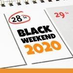BLACK WEEKEND 2020: Die besten Deals zum Wochenende!