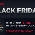 Black Friday bei CANCOM: Bis zu 150 Euro Sofort Rabatt bei Kauf eines Macs mit CANCOM Care