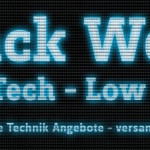 CONRAD Black Week 2015: High Tech – Low Price! Streng limitierte Technik Angebote (Aktualisiert)