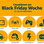 Countdown zur Amazon Black Friday Woche 2019