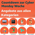 Countdown zur Amazon Cyber Monday Woche 2018