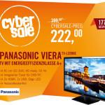 CyberSale IFA-Special: Panasonic Viera TX-L32B6E für 222 Euro