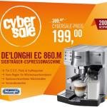 CyberSale IFA-Special: DeLonghi EC 860.M Espressomaschine für 199 Euro