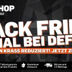DefShop Black Friday Specials: Viele Jacken bis zu 80% reduziert! Nicht verpassen…