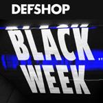 Black Week bei Defshop: 5.000 Artikel um bis zu 80 Prozent reduziert