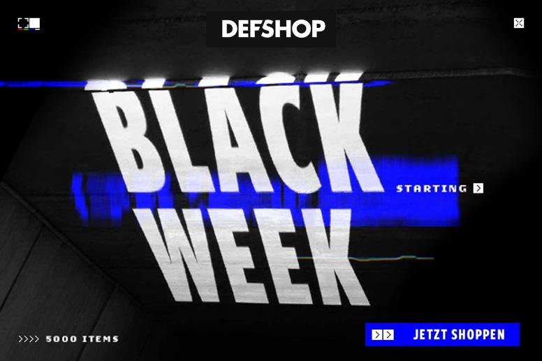 Defshop Black Friday 2020