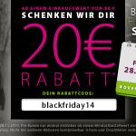 EQUIVA feiert den Black Friday mit 20 Euro Rabatt auf deinen gesamten Einkauf