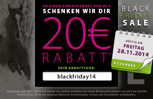 equiva feiert den black friday mit 20 euro rabatt auf deinen gesamten einkauf black. Black Bedroom Furniture Sets. Home Design Ideas