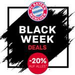 Black Week Sale im FC Bayern Fan-Shop mit -20% auf ALLES!