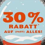 30% Rabatt auf (fast) ALLES bei FOSSIL