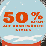 50% Black Friyay Rabatt auf ausgewählte FOSSIL Styles