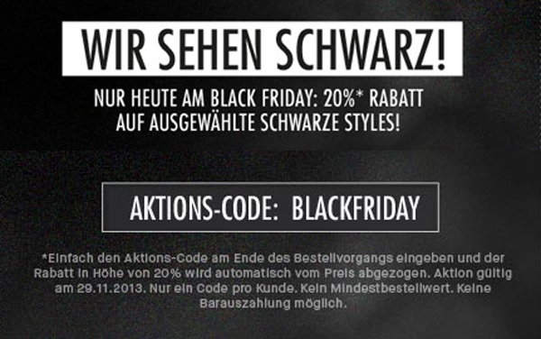 Frontlineshop Black Friday 2013