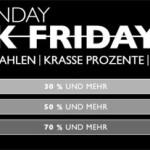 Cyber Monday im Frontlineshop: 30%, 50% & 70% auf Streetfashion und mehr
